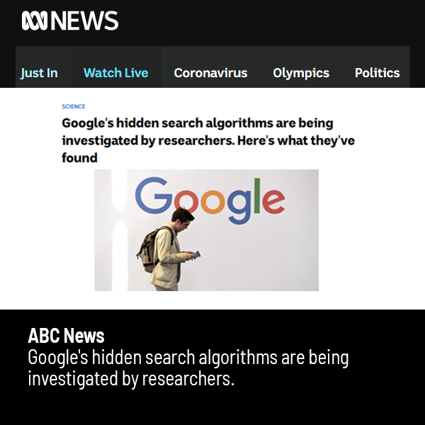 Link to ABC article on the Australian Search Experience project