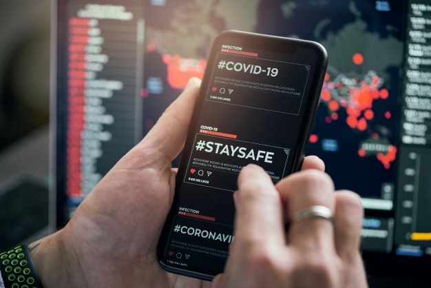 COVID19 Stay safe on mobile device